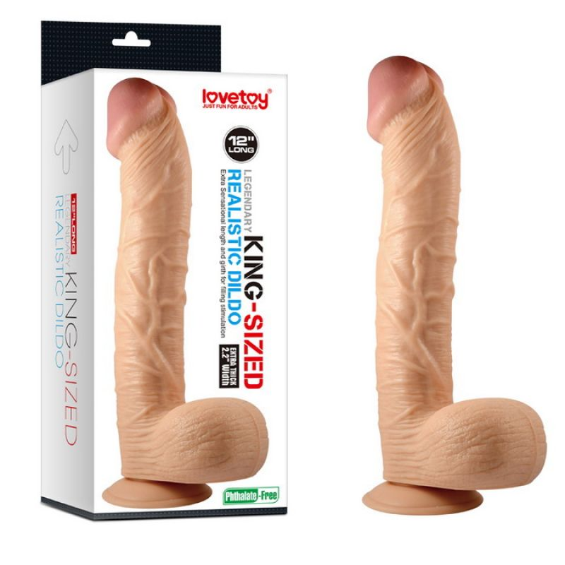 Legendario King-sized Realistico Dildo