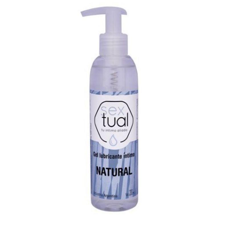 Lubricante Sextual Natural 200 ml.