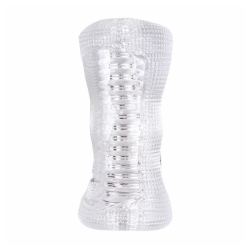 Diamond Hand Job Stroker-Clear - -0