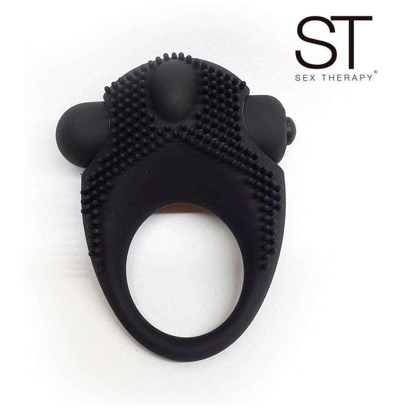 Anillo con vibro negro Ring 1