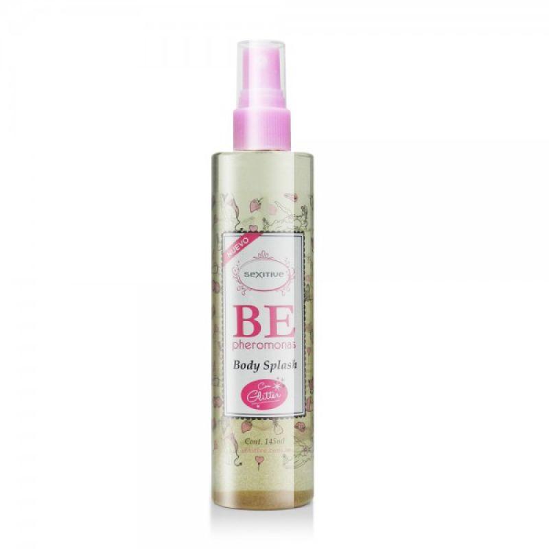 B.E Body Splash con Pheromonas y gritters