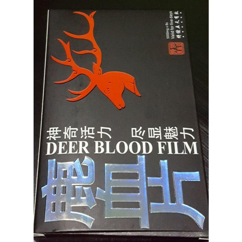 Retardante Masculino Deer Blood Film 8 Capsulas